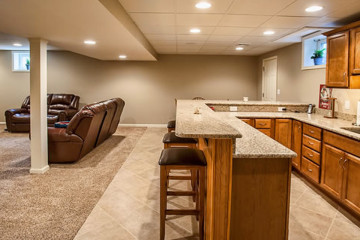 basement remodeling, finishing, and renovations